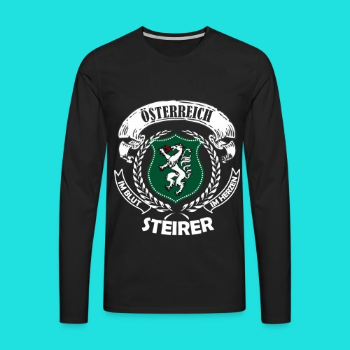 Steirer - Männer Premium Langarmshirt
