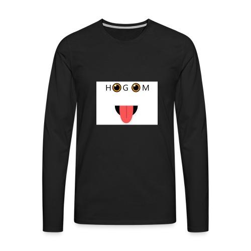 HetGameMisterie Logo - Mannen Premium shirt met lange mouwen