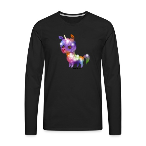 Llamacorn - Mannen Premium shirt met lange mouwen
