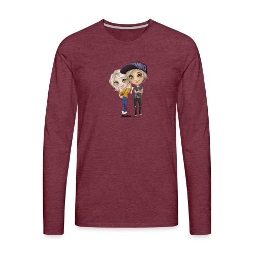 Emily & Lucas - Herre premium T-shirt med lange ærmer
