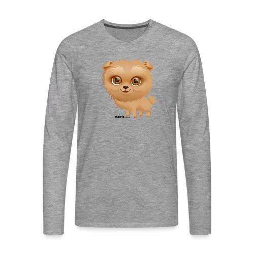 Dog - Herre premium T-shirt med lange ærmer