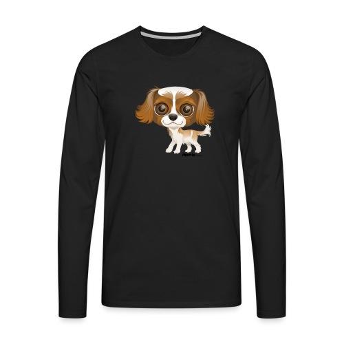 Hund - Herre premium T-shirt med lange ærmer