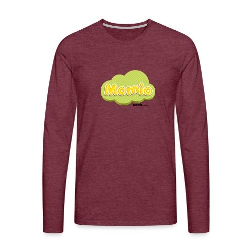 Momio logo - Herre premium T-shirt med lange ærmer