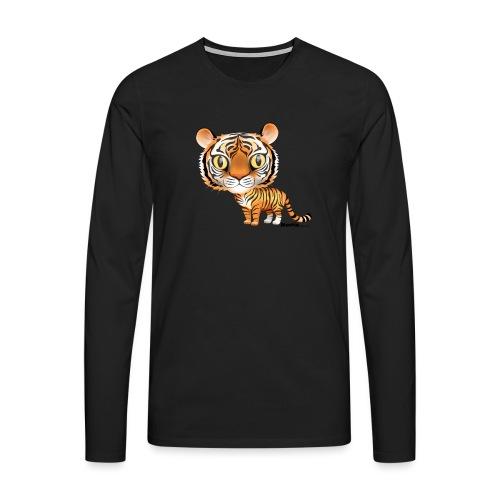 Tijger - Mannen Premium shirt met lange mouwen