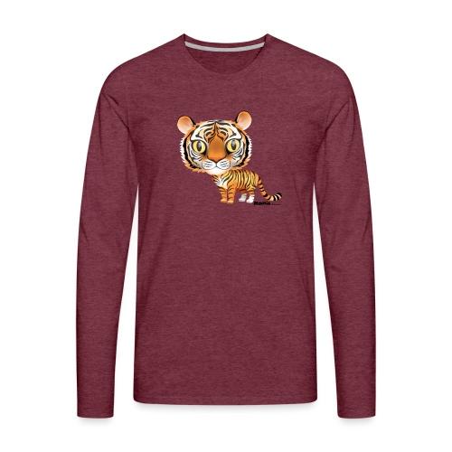Tiger - Herre premium T-shirt med lange ærmer