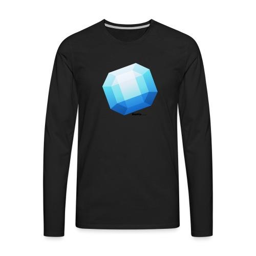 Safir - Premium langermet T-skjorte for menn