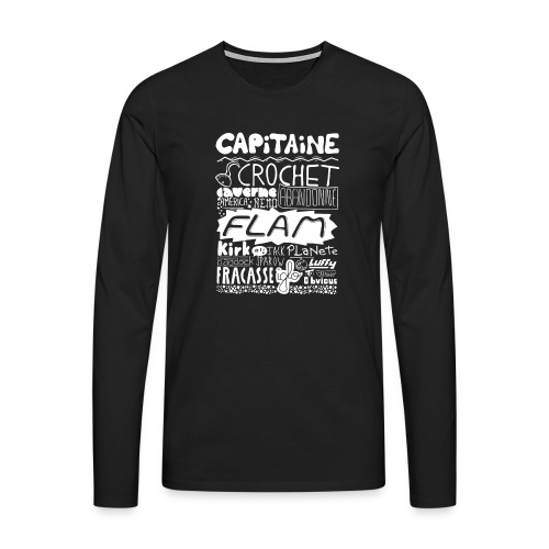 capitaine-blanc Tee shirts - T-shirt manches longues Premium Homme