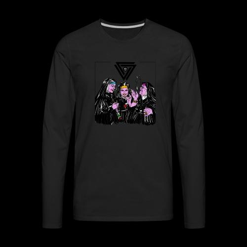 Fichier 1 - T-shirt manches longues Premium Homme