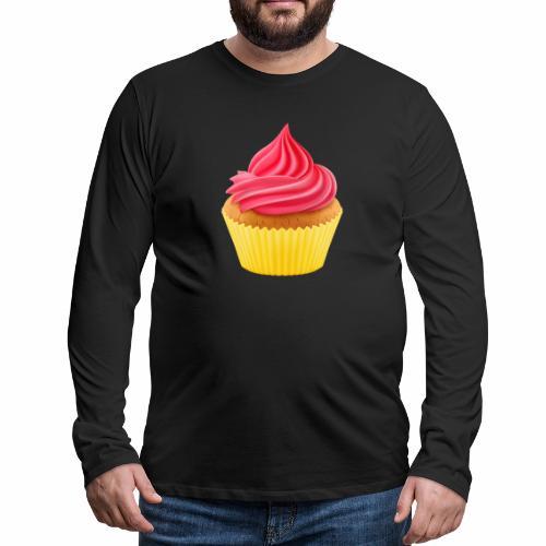 Cupcake - Männer Premium Langarmshirt