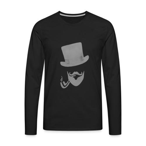 BassBoostHDTempLogoT2-bic - Men's Premium Longsleeve Shirt