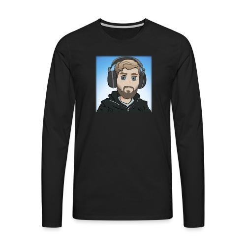 KalzAnimated - Herre premium T-shirt med lange ærmer
