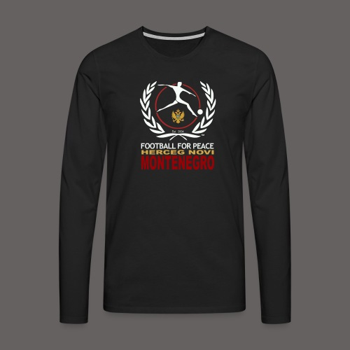 football for peace New Lo - Men's Premium Longsleeve Shirt