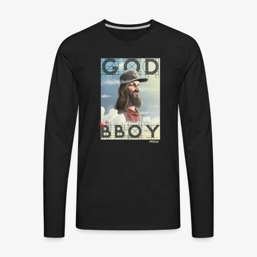 bboy - Camiseta de manga larga premium hombre
