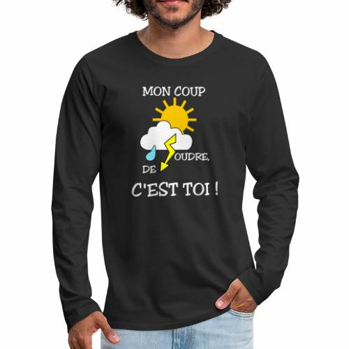 Mon coup de foudre - Men's Premium Longsleeve Shirt