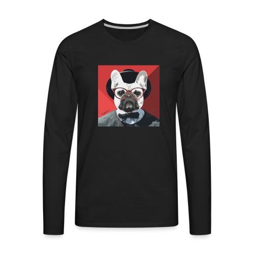 French Bulldog Artwork 2 - Männer Premium Langarmshirt