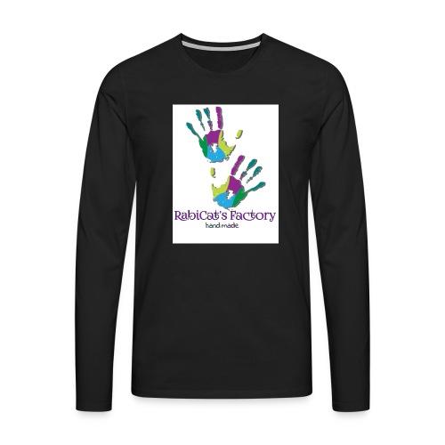 rabicat_mani - Maglietta Premium a manica lunga da uomo