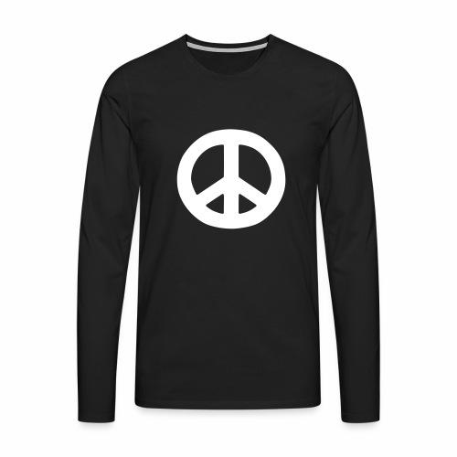 Peace - Men's Premium Longsleeve Shirt