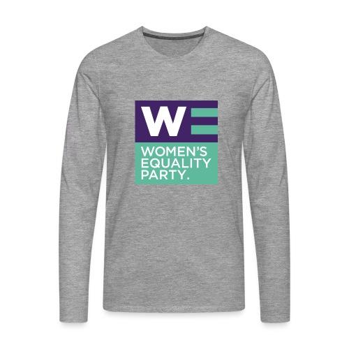 WE_square - Men's Premium Longsleeve Shirt