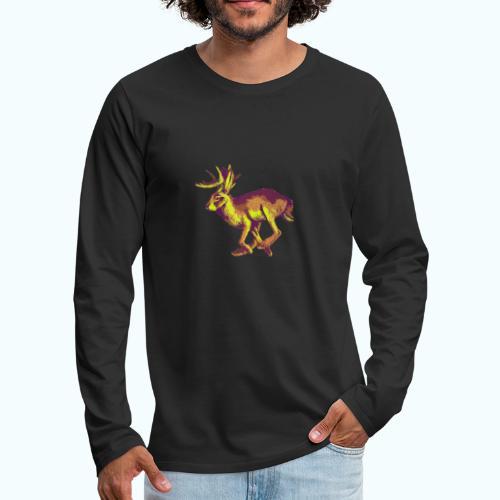 Fantasy Wolpertinger - Men's Premium Longsleeve Shirt