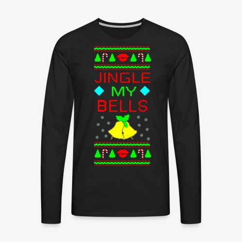 Jingle my Bells ugly Xmas - Männer Premium Langarmshirt