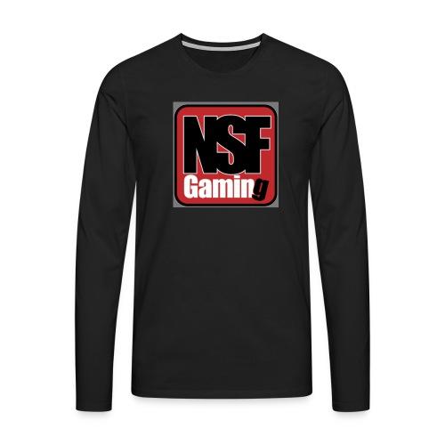 NSFGaming - Långärmad premium-T-shirt herr