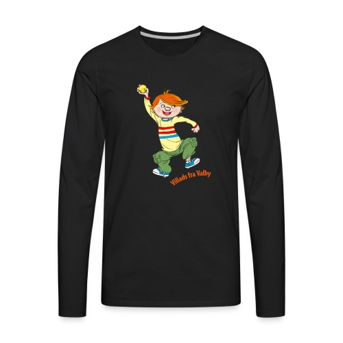 Villads fra Valby - Herre premium T-shirt med lange ærmer
