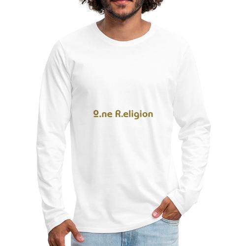 O.ne R.eligion Only - T-shirt manches longues Premium Homme