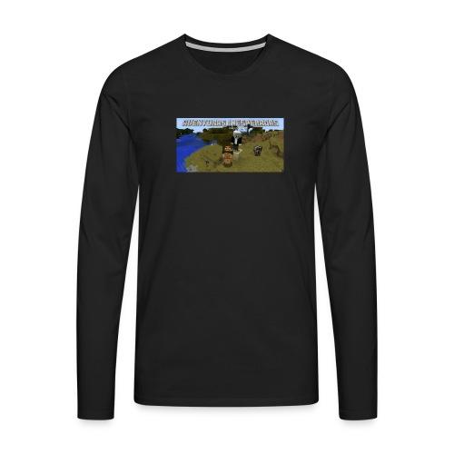 minecraft - Men's Premium Longsleeve Shirt