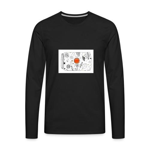 cosmos - Männer Premium Langarmshirt