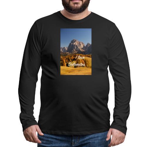 Langkofel - Wahrzeichen Südtirols - Männer Premium Langarmshirt