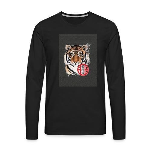 tigre1 gif - T-shirt manches longues Premium Homme