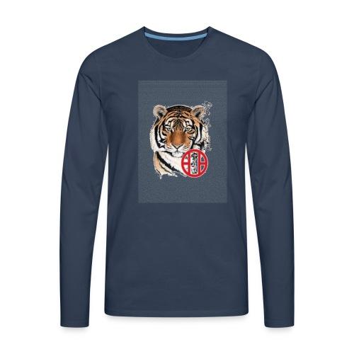 tigre1 gif - T-shirt manches longues Premium Homme