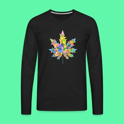 Mary Jane multi - Herre premium T-shirt med lange ærmer