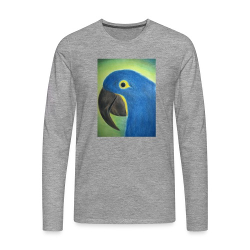 Hyasinttiara - Miesten premium pitkähihainen t-paita