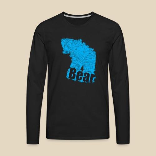 Blue Bear - T-shirt manches longues Premium Homme