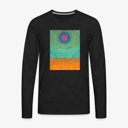 Noc Nad Pustynią - Koszulka męska Premium z długim rękawem