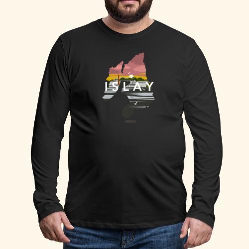 Islay Dusk - Männer Premium Langarmshirt