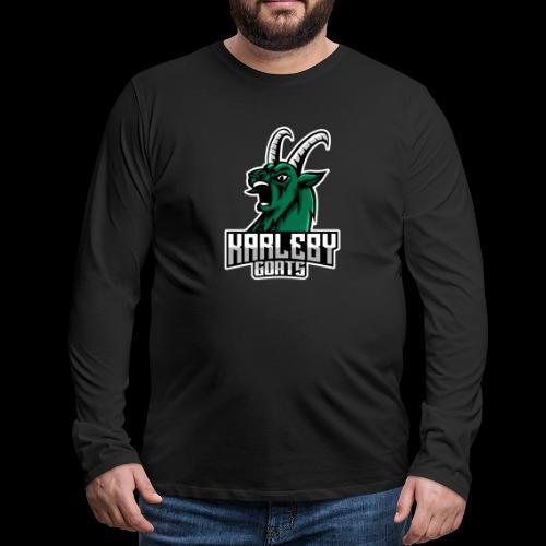 ORIGINAL GOAT - Miesten premium pitkähihainen t-paita