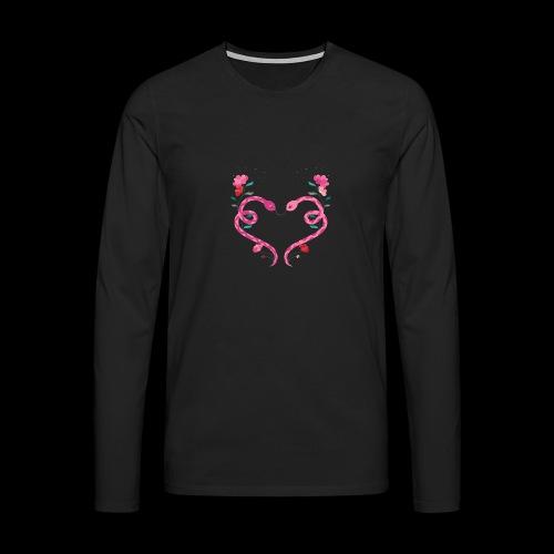 Coeur de serpents - T-shirt manches longues Premium Homme