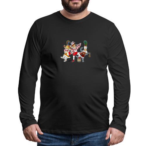 Köln Dreigestirn - Männer Premium Langarmshirt