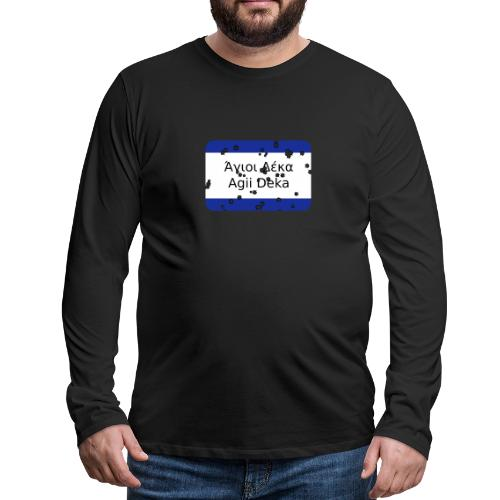 mg agii deka - Männer Premium Langarmshirt