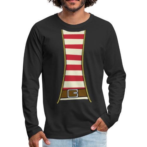 Pirate costume - Men's Premium Longsleeve Shirt