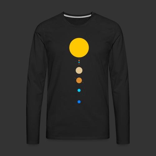 Solar System - Men's Premium Longsleeve Shirt