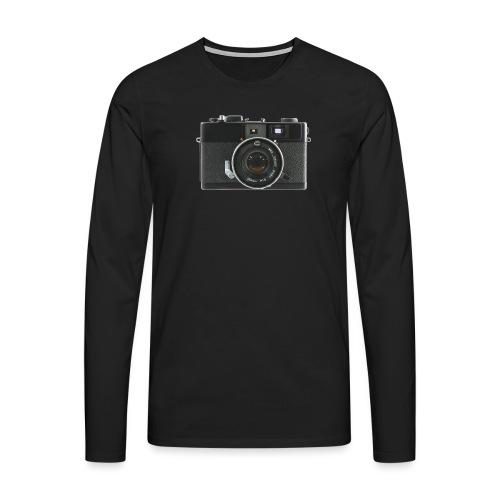 Vintage Camera Auto S3 - Maglietta Premium a manica lunga da uomo