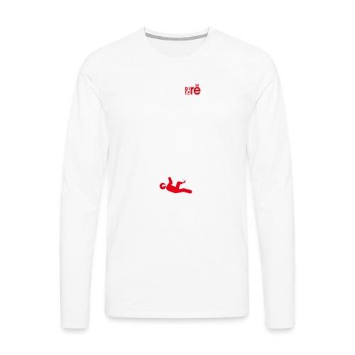 diretravolto - Maglietta Premium a manica lunga da uomo