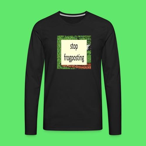Frogposter - Men's Premium Longsleeve Shirt