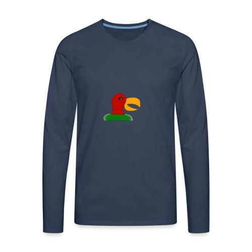 Parrots head - Men's Premium Longsleeve Shirt