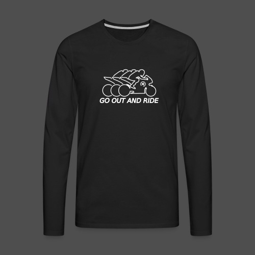 go out and ride superbike - Men's Premium Longsleeve Shirt