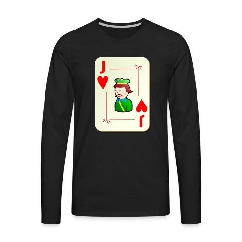 Jack Hearts png - Men's Premium Longsleeve Shirt