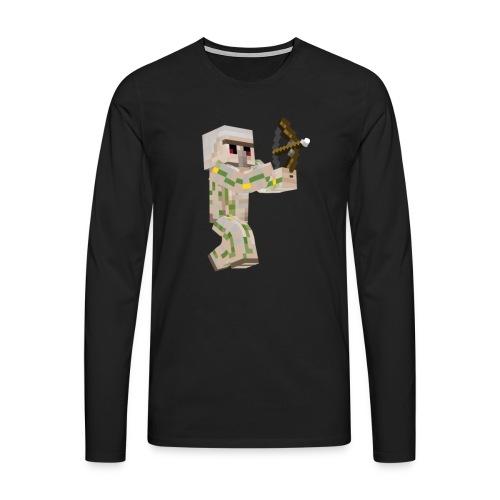 Bow Shooter - Långärmad premium-T-shirt herr